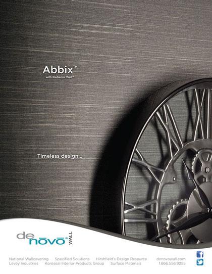 Advertisement design in Interior Design Magazine for product company