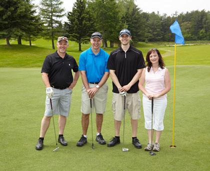 Event photography Tim Hortons golf tournament