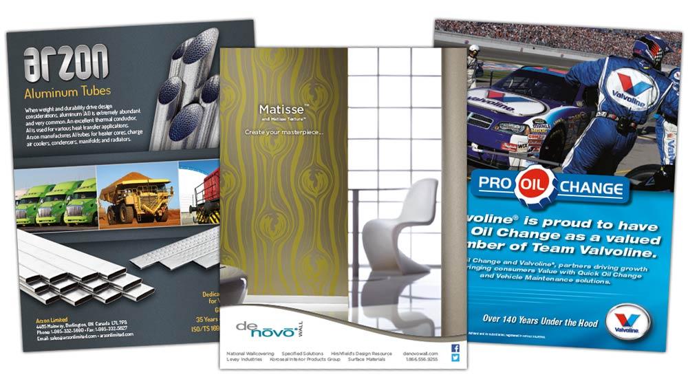 Creative ad design Toronto Ontario