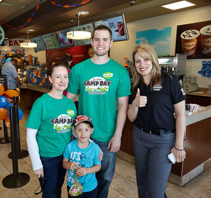 Photography for Camp Day 2015 at Tim Hortons Brant Street, Burlington, Ontario