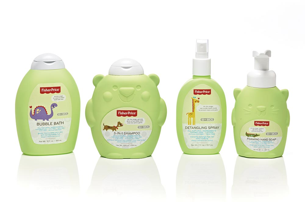 Product photography of Fisher-Price for brand promotion