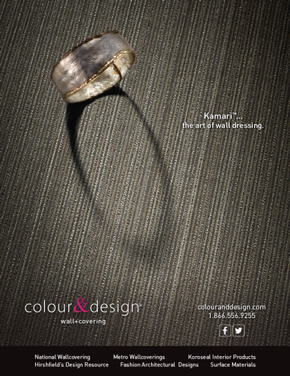 Ad product photography for Colour & Design Kamari