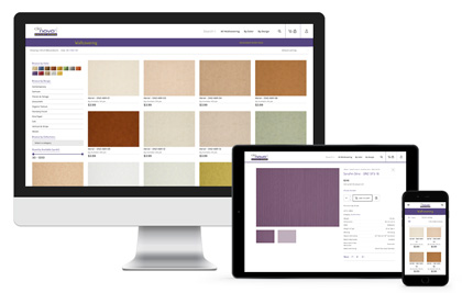E-commerce web design Denovo Wall