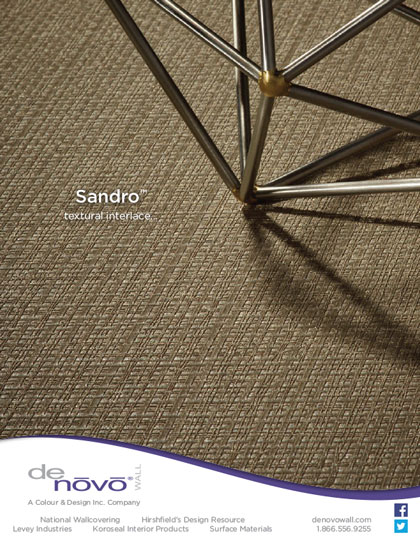 Interior Design photography Sandro for Denovo Wall