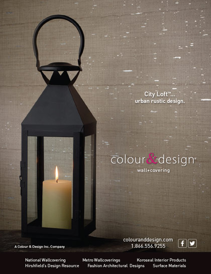 Magazine advertisement City Loft for Colour & Design