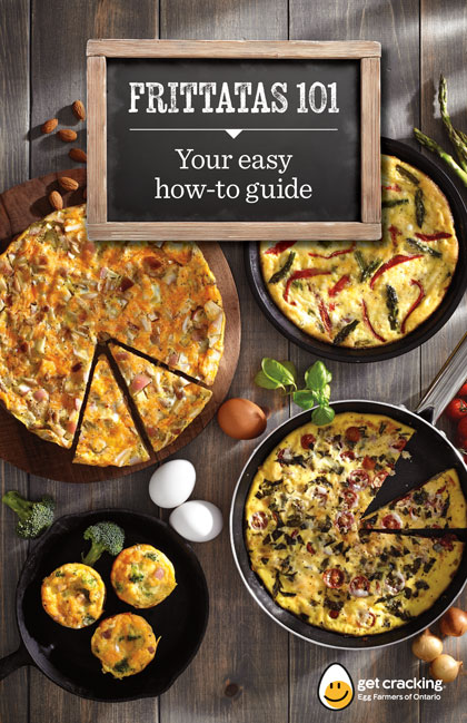 Egg Farmers of Ontario Frittata Recipe Booklet by Bcreative