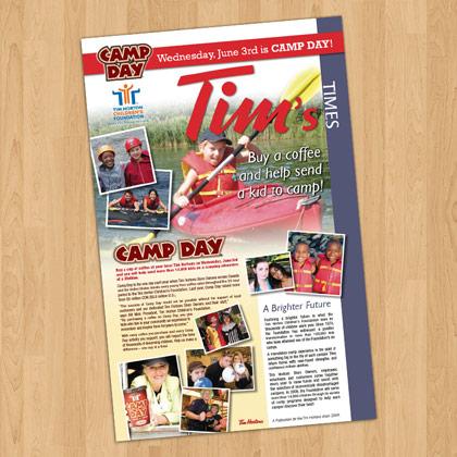 Tim's Times Newsletter design