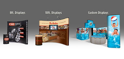 Benefits of display booth design and print