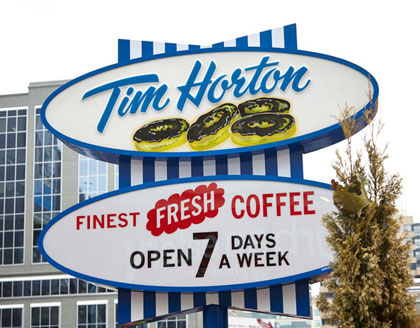 Event Photography for Tim Hortons 50th at Dundas Square