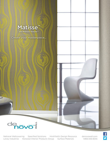 Interior design photography for magazine product advertisement