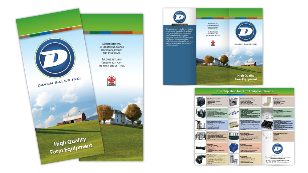 Professional brochure design London Ontario