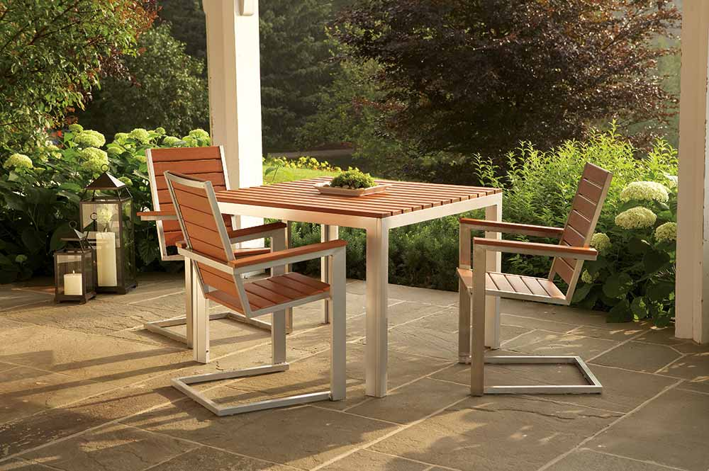 Patio furniture photography for marketing elements