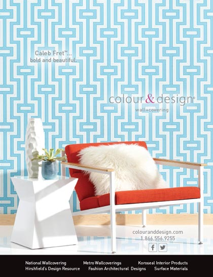 Product photography for Colour & Design Interior Design advertisement
